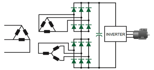 12-pulse converter