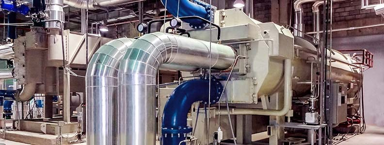 absorption chiller for refrigeration plant