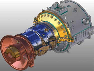 Ansaldo AE64.3A Gas Turbine