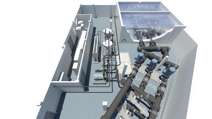 Seawater cooling for District Cooling plant in the Middle East