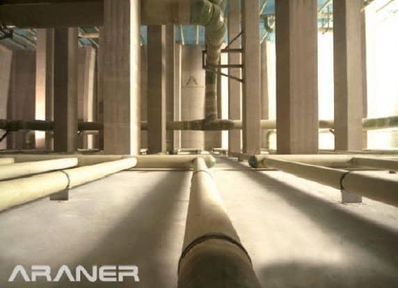 concrete tes tank