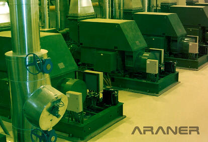 ARANER Industrial Compressors for Industrial Refrigeration