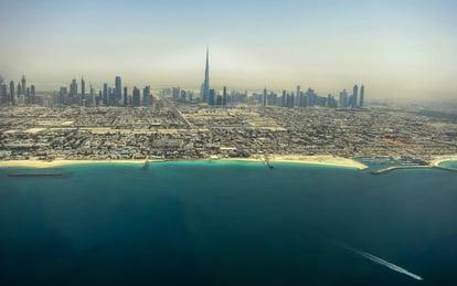Seawater resources Dubai, UAE