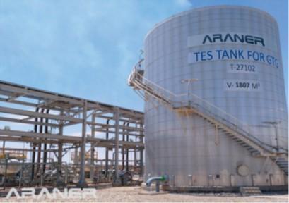 Fig 1: Example of Araner TES Tank