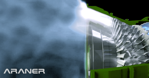 Turbine Inlet Air Cooling system by ARANER