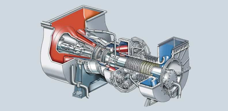 gas turbine structure