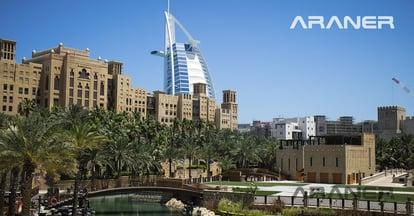 Urbanized district in Dubai, UAE