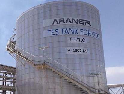 TES Tank for G2G at Badra Oil Field Iraq