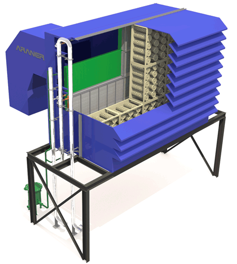 Turbine Inlet Air Cooling System